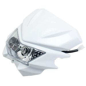 ヘッドライトカウル 汎用 KLX250 KDX250 Dトラッカー XR250 SL230 ランツァ WR250 オフロード ストリート TW200 FTR250 ヘッドライト|topsense