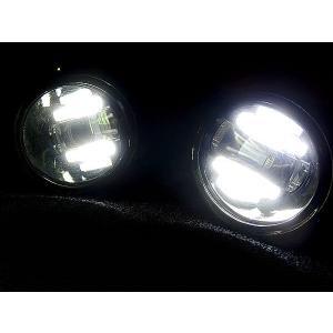 キューブ Z12 デイライト内蔵 フォグランプ CREE 16W LED topsense