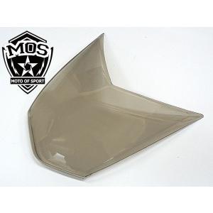 MOS シグナスX SE44J ヘッドライト レンズ カバー スモーク topsense