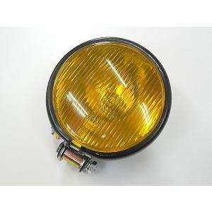 4.5インチ ビンテージ ヘッドライト ハーレー オールドスクール|topsense