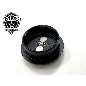MOS T-MAX530 フレーム ホール カバー CNC アルミ TMAX530 黒 topsense
