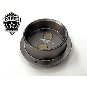 MOS T-MAX530 フレーム ホール カバー CNC アルミ TMAX530 銀|topsense