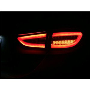 マツダ アテンザ セダン GJ系 LEDファイバーテールライト LEDテールランプ LEDウィンカー レッド 3代目 前期 対応年式:2012年11月〜2014年12月|topsense