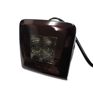 Z34 フェアレディZ LED バックフォグ 日産 E12 ノート K13 マーチ ニスモ 流用可能 NISMO レッド スモークレンズ リア フォグランプ 4発 LED|topsense