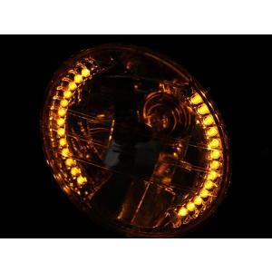 ハーレー LED ヘッドライト ハーレーダビットソン用ヘッドライト JEEP ジープ ポジション付 7インチ|topsense