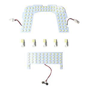 プリウス 50系 LEDルームランプ 新型プリウス 7点セット SMD LED 室内灯 内装パーツ TOYOTA PRIUS ZVW50 ZVW51 ZVW55 ムーンルーフ無車用|topsense