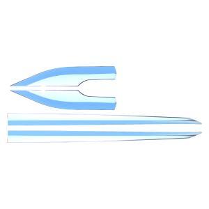 C-HR トヨタ サイドドアガーニッシュ サイドモール 外装 メッキ カスタムパーツ CHR ZYX10 NGX50 CHR ドレスアップ パーツ|topsense