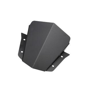 ヤマハ MT-09 ショートスクリーン アルミ製 メーターバイザー MT09 カスタム パーツ ウィンドウスクリーン カラー ブラック|topsense