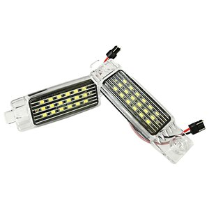 ハイエース 200系 1型 2型 3型 4型 LED ライセンスランプ 36LED ホワイト ナンバー灯 純正交換型 ライト 2P 外装 リア カスタムパーツ|topsense