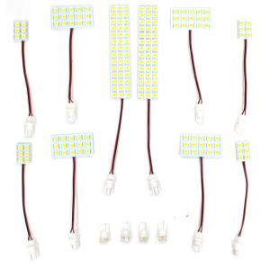 ヴェルファイア 20系 アルファード 20系 ルームランプ LED ルームライト セット 内装 カスタムパーツ 3chip SMD LEDチップ 3000K|topsense