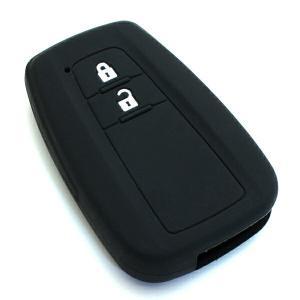 プリウス50系 C-HR 純正適合 スマートキーカバー シリコン製 スマートキーケース 保護カバー CHR 鍵 キーレス キーレスカバー キーケース|topsense