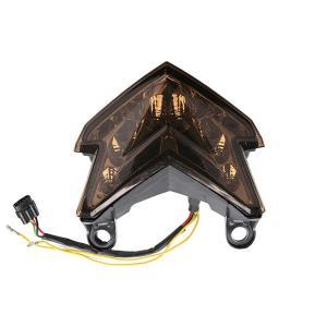 Z125PRO Z800 LEDテールランプ ウインカー機能内蔵 LEDライト 純正適合 リアフェンダー カスタムパーツ スモークレンズ リアライト topsense