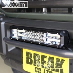 LED ライトバー 38cm 216W ワークライト 26000lm 12V 24V 作業灯 ハイパーコンボ 15インチ 補助灯 オフロード 防水 汎用 フォークリフト SUV ATV バギー 船舶|topsense