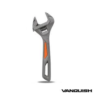 ヴァンキッシュ モンキーレンチ モンキレンチ ワイドモンキー ワイドモンキレンチ 200mm 鍛造 おしゃれ デザイン WORK & DIY 工具 吊り下げ可能|トップセンス