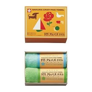 クレパスタオル タオルハンカチ2P ブルー C...の関連商品2