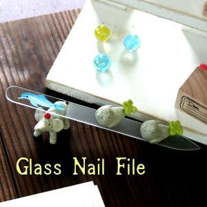 〜洗って何度でも使える〜 ガラスの爪やすり イルカ 【チェコ製】 (片面やすり)|topstarjapan