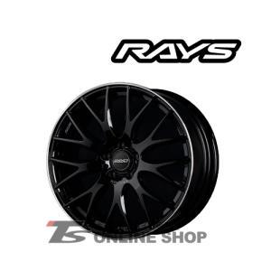 RAYS HOMURA 2X9Plus 7.5J-18インチ (45) 5H/PCD114.3 BVK ホイール1本 レイズ ホムラ ツーバイナインプラス 2×9 2x9 PLUS
