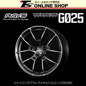 RAYS VOLK RACING G025 9.5J-19インチ (45) 5H/PCD114.3 HK ホイール1本 レイズ ボルクレーシング