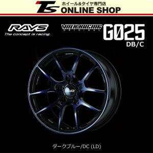 RAYS VOLK RACING G025 DB/C 7.5J-18インチ (48) 5H/PCD114.3 LD ホイール1本 レイズ ボルクレーシング