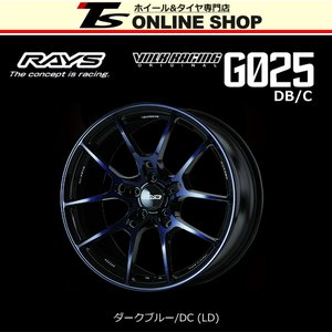 RAYS VOLK RACING G025 DB/C 8.5J-18インチ (51) 5H/PCD114.3 LD ホイール1本 レイズ ボルクレーシング