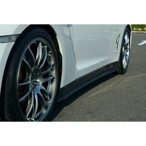 アブフラッグ GT-R35 Side skirt (FRP)