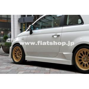 メーカーコード:F500-11  車種:FIAT 500 ジャンル:エアロ・外装 -> サイド...