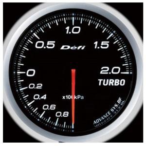 Defi-Link Meter ADVANCE BFシリーズ (Φ60) ターボ計 Max200kPa/ホワイト
