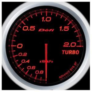 Defi-Link Meter ADVANCE BFシリーズ (Φ60) ターボ計 Max200kPa/アンバーレッド