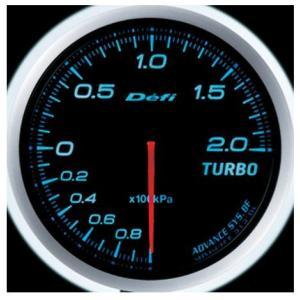 Defi-Link Meter ADVANCE BFシリーズ (Φ60) ターボ計 Max200kPa/ブルー