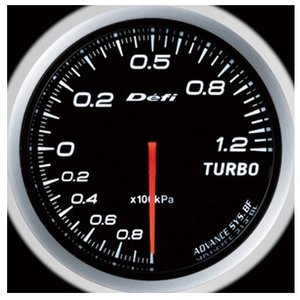 Defi-Link Meter ADVANCE BFシリーズ (Φ60) ターボ計 Max120kPa/ホワイト