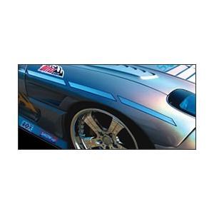 セクシースタイル FD3S フロントワイドフェンダー