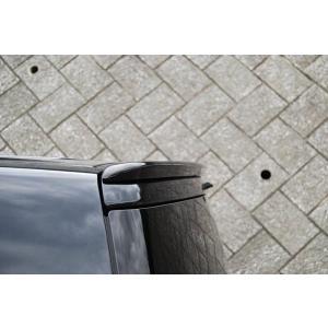 デリカ D:5 ミニルーフスポイラー 塗装済 ダイヤモンドブラック (X37)