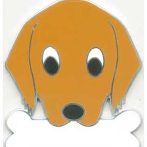 犬 迷子札 ゴールデンレトリーバー ドッグタグ トップワン【名入れ】ペット迷子札  販売 犬鑑札 IDプレート  アクセサリー  携帯ストラップ 刻印 名前|topwan