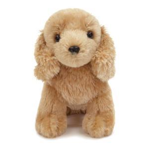 ミニチュアダックス(クリーム) ぬいぐるみ(子犬のぬいぐるみ) プレゼントに最適 |topwan