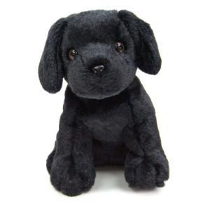 ラブラドール・レトリバー(黒ラブ) ぬいぐるみ(子犬のぬいぐるみ) プレゼントに最適 |topwan
