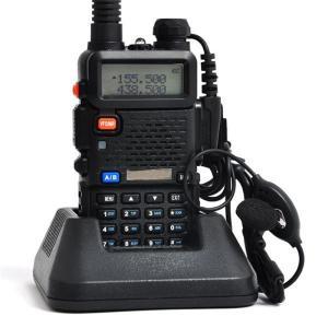 新入荷 無線機1台 トランシーバー 充電器付  災害 地震 対策 変換アダプター イヤホンマイク付 アンテナ付 UV-5R 送料無料代引不可