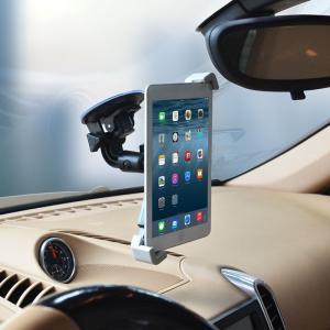 新入荷 送料無料 車載タブレットホルダー ヘッドレストホルダー 車載ホルダー スマホスタンド 吸盤式 360°回転 タブレット iPad カー用品 代引不可