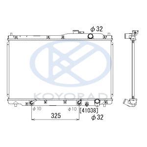 ラジエーター ステップワゴン E-RF1 E-RF2 A/T 19010-P3G-901|tora-rd