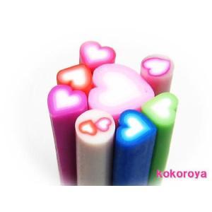 【♪ネイルサイズ♪】 6:ハート型スライス棒 (5〜9mm)|tora-shop