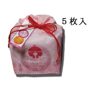 京のお揚げさん 巾着5枚入 ピンク 京寿楽庵|toraya-sweets