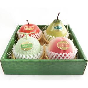 フルーツアラモード 4個入 ゼリー ギフト りんご ラフランス もも メロン  かわいい フルーツ容器入 フルーツゼリー 内祝 送料込み 京寿楽庵 お取り寄せ|toraya-sweets