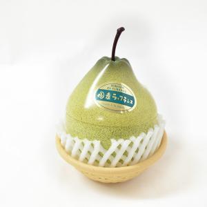 フルーツアラモード 山形ラ・フランス 1ケース/12個入 ゼリー かわいい フルーツ容器 フルーツゼリー ラフランスゼリー 送料込み 京寿楽庵 お取り寄せ|toraya-sweets