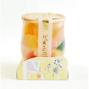 涼風の便り あんみつ 京寿楽庵 toraya-sweets