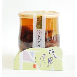 涼風の便り 冷やし栗ぜんざい 京寿楽庵 toraya-sweets