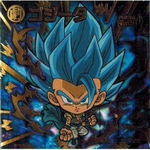 ドラゴンボール 超戦士シールウエハースZ W12-21 ゴジータ (スーパーゴッドレア) 強者たちの超決戦 torekado0822