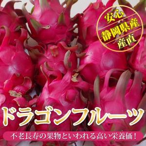 高級メロンを作る静岡県のメロン農家が丁寧に育てた樹上完熟のドラゴンフルーツです。ほのかな甘さであっさ...