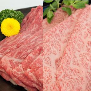 お中元 2021 プレミアム 飛騨牛 牛肉 お肉 肉 すき焼き しゃぶしゃぶ 送料無料 A5等級 ロース500g+モモ500g 約7人前 カット|toretate1ban