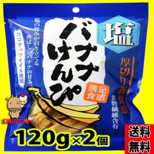 お中元 2021 プレミアム 塩 バナナ けんぴ 120g (120g×2袋) ネコポス 送料無料 toretate1ban