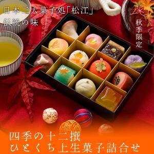 冬季限定 四季の十二撰 ひとくち上生菓子詰合せ(...の商品画像