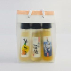 「熊野かすみ・熊野梅酒・柚子梅酒」飲み比べセット! プレゼントにもどうぞ!  製造者 : プラム食品...